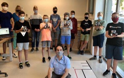 Robotik-Ferien-Kursus ein voller Erfolg