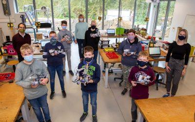 Zweiter erfolgreicher zdi-Robotik-Kurs